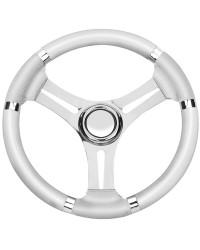 Volant B inox/blanc 350mm pour cône universel