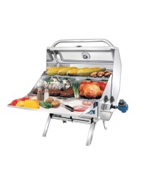 Barbecue MAGMA Catalina Infrared au gaz double grille 30 x 46 cm