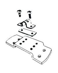 Stop gaine L3 avec plaque pour cables C2/C7/C8/mach0