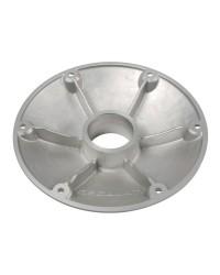Base de rechange alu anodisé poli 240 mm pour pied de table conique 48.418.28 - 60 mm
