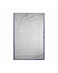Portes et ouvertures en polyethylène avec zip