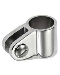 Articulation fourche inox pour tube 20mm
