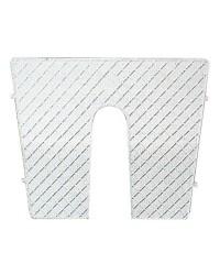 Protège tableau plastique blanc 45x36cm dégressif