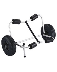 Chariot pliable Kayak trolley