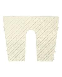 Protège tableau plastique crème 42x34cm dégressif