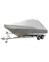 Bache JUMBO pour bateau avec cabine - 7.80 à 8.20 M