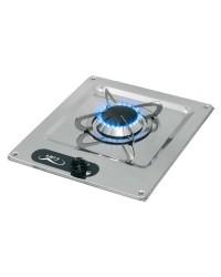 Plaques de cuisson en inox à encastrer 1 feu