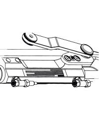 Piston hydraulique ULTRAFLEX pour moteur hors-bord UC 128 OBF 5