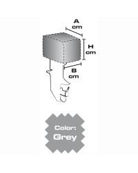 Housse moteur en tissu 40 x 25 x 32 (2 à 4 CV) - grise