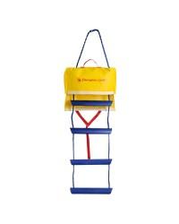 Echelle de secours 4 marches avec sac - 114 cm