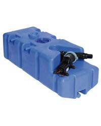 Réservoir des eaux usées avec broyeur Whale incorporé 100L 12V