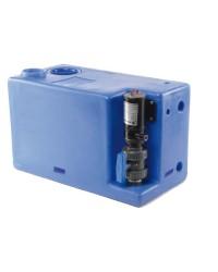 Centrale réservoir eaux noires - broyeur vertical 77 litres - 24V