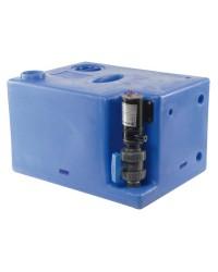 Centrale réservoir eaux noires - broyeur vertical 117 litres - 24V