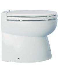 WC électrique caréné avec cuvette en porcelaine blanche 24V bas