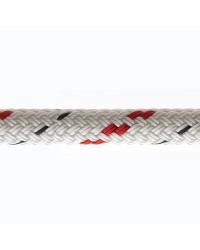 Drisse Doublebraid - Blanc - ø8 mm - témoin rouge