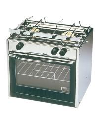 Cuisinière à gaz TECHIMPEX Compact 2 feux + four