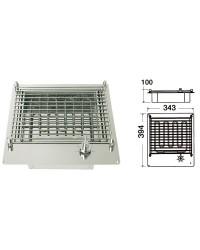 Barbecue électrique compact TECHIMPEX inox 220V