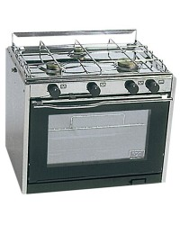 Cuisinière à gaz TECHIMPEX Classic 3 feux + four