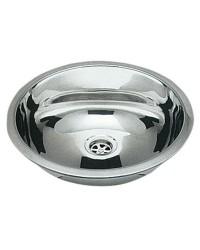 OSCULATI Evier Ovale INOX Poli Miroir 240x375 mm