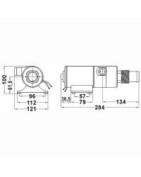 Broyeur auto-amorçant 24 Volts pour WC