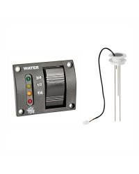 Kit jauge + tableau pour réservoir eau douce (15à50cm) + 4M de câble