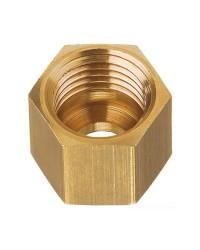 Ecrou en laiton pour tuyau cuivre de 8 mm, pas M14 x 1.5F