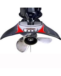 Hydrofoil STING RAY XRIII Senior 3 gris (Fixation sans vis) pour moteur de 75 à 300CV