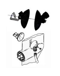 Rince moteur Mercury Mercruiser Bravo OEM 44357Q-2
