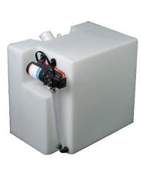 Centrale réservoir eau douce + autoclave 32 L
