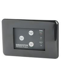 Panneau de commande pour WC 3 boutons