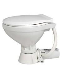 WC électrique broyeur intégré - lunette PVC 12 V 32x35x42cm
