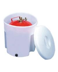 Container pour bouteille de gaz