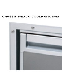 Chassis Flush Mount CR50S inox