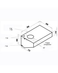 Réservoir rigide pour eau potable 165 L
