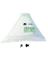 Réservoir d'eau douce souple triangulaire 100 litres