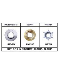 Kit d'adaptation UME-KT pour hélice New Saturn sur Mercury/Mariner 135/300CV 2/4T