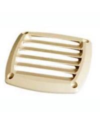 Grille d'aération pour prise d'air en ABS crème 85x85 mm