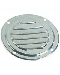 Grille d'aération circulaire en inox Ø 178 mm - avec moustiquaire