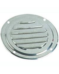 Grille d'aération circulaire en inox Ø 152 mm - avec moustiquaire