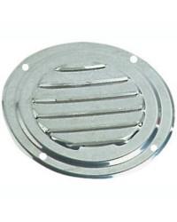 Grille d'aération circulaire en inox Ø 63 mm - sans moustiquaire