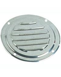Grille d'aération circulaire en inox Ø 102 mm - sans moustiquaire