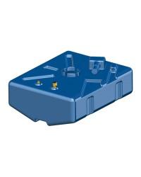 Réservoir en polyéthylène réticulé 67 L - 660x535xh175