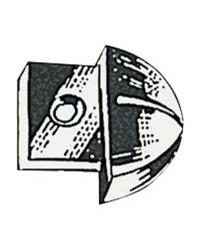 Embout nylon pour rail 25mm
