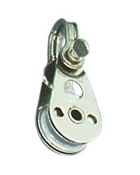 Poulie simple inox pour cable Ø4x25mm