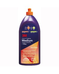 Medium Cutting Compound + Wax - Polish pour oxydations moyennes 473 ml