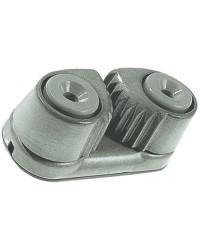 Taquet coinceur alu à billes 30x64mm pour corde 5/12mm