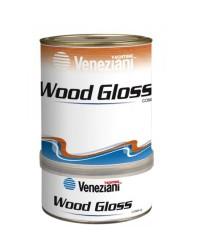 Peinture polyuréthane WOOD-GLOSS 2 composants pour bois - 0,75 - transparente