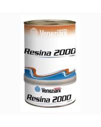 Résine 2000 époxy pour bois ou imprégnation des fibres verre/carbone - 0,75L