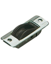 Réa à encastrer pour corde de 8 mm