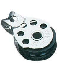 Poulie simple fixe pour corde de 8xØ25mm